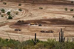 Scraper Spread Mass Earthwork